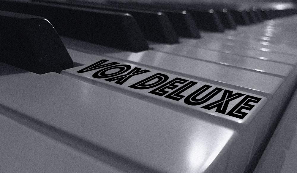 Vox Deluxe Piano Logo